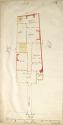 [Plan of the Property at Tower Street]